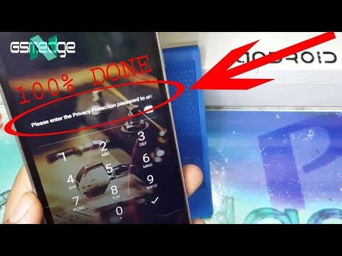 Tutoriel Remove Privacy Protection Password to unlock On Mobile Android