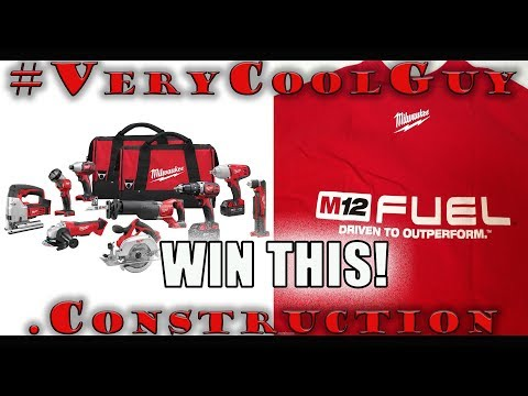 How To Win A Milwaukee 10pc Combo Tool Kit Or M12 FUEL T-Shirt!