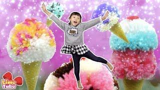라임의 5가지 아이스크림 만들기 폼폼아트 아이스크림팩 장난감 놀이