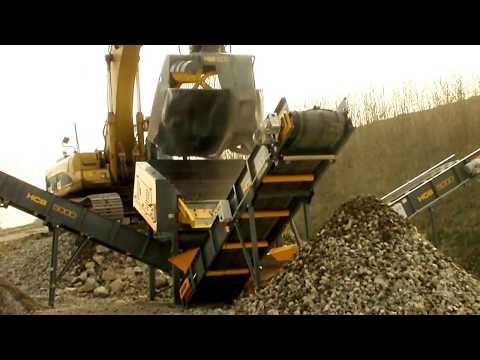 Сортировочные установки HARTL (навесные и модульные): HBS + SCREEN PLANT, очистка камня от глины