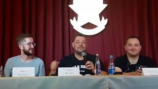 Сергей Жуков разговаривает на татарском.