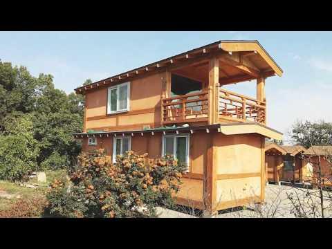 이동식 한옥황토방, 소형전원주택