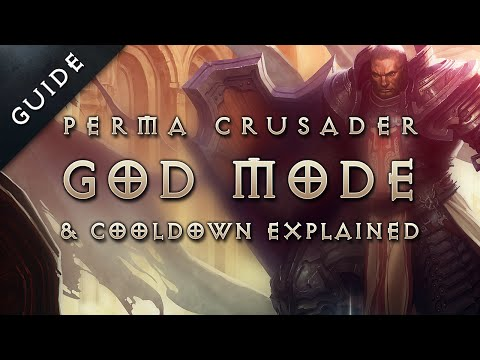 Diablo 3 Reaper of Souls Patch 2.1 Perma Invulnerable Party Crusader  & Cooldown Reduction Guide