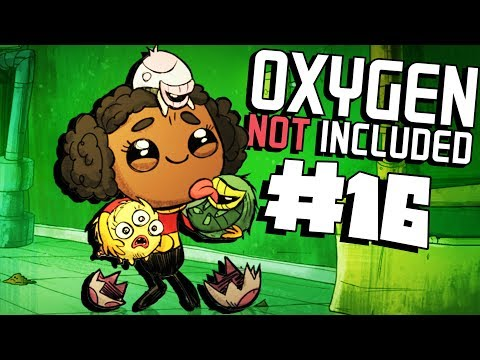 Oops, Pollution... - Ep. 16 - Oxygen Not Included Ranching Upgrade Mark II