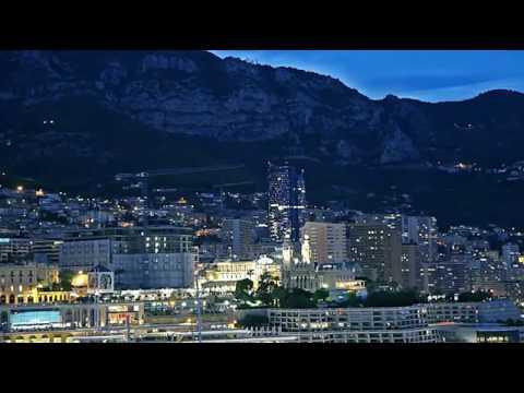 Yann Kersalé - La Grande Bleue, Tour Odéon à Monaco, 2016