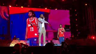 11 - Uptown Vibes & Going Bad - Meek Mill & J Cole (FULL HD SET @ Dreamville Fest '19 Raleigh, NC)
