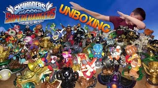 Unboxing Every Skylanders Superchargers Figure!