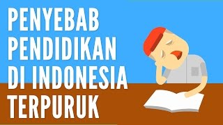 Penyebab Pendidikan di Indonesia Terpuruk - Ayo Beropini #1