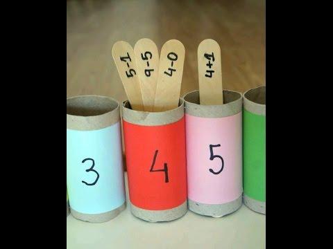 cb50a4abe2a85 افكار جدا ممتازه لتعليم طفلك الحساب - YouTube