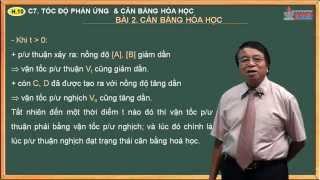 Bài giảng hóa học 10 - Tốc độ phản ứng và cân bằng hóa học - Bài 2. Cân bằng hóa học