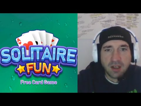 SOLITAIRE FUN By Free Games | Android / IOS Game | Review & Let's Play Gameplay Youtube YT Video