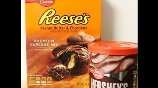 Reese's Peanut Butter & Chocolate Cupcakes