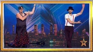 Estos andaluces mezclan DANZA, arte urbano y PASIÓN española | Audiciones 6 | Got Talent España 2019