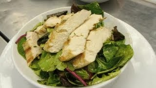 A Grilled Chicken & Goat Cheese Salad