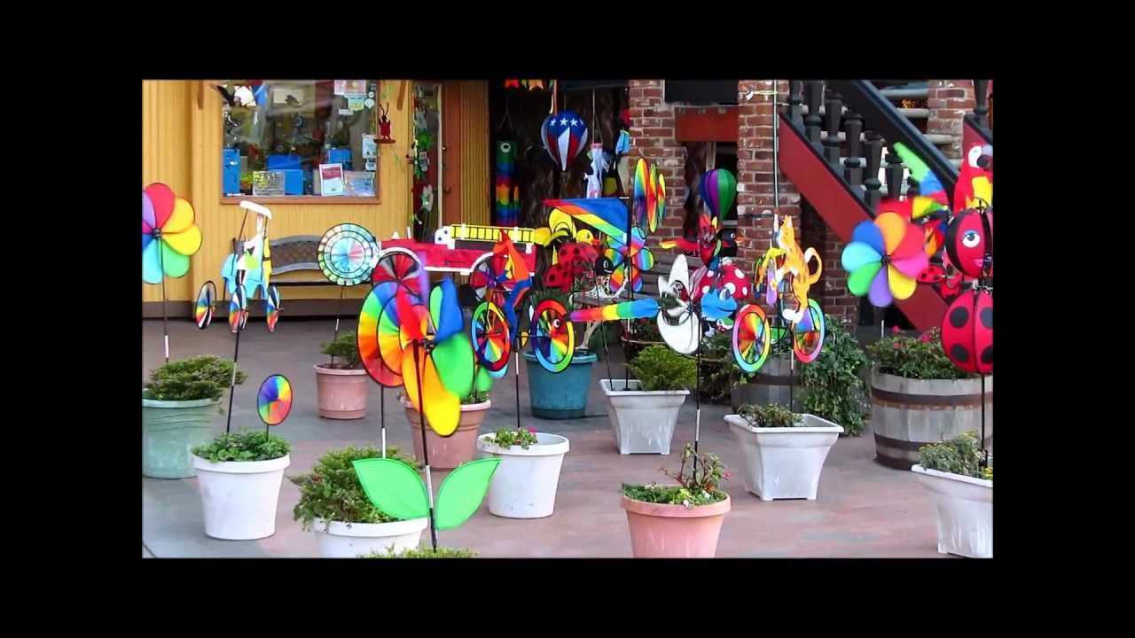 Colorful Backyard Decorating Idea - YouTube