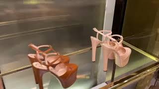 Шоппинг по брендовому магазину Гуччи Gucci Brand Store Shopping