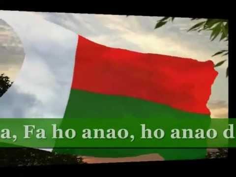 L'hymne national de Madagascar Karaoke Anthem of Madagascar