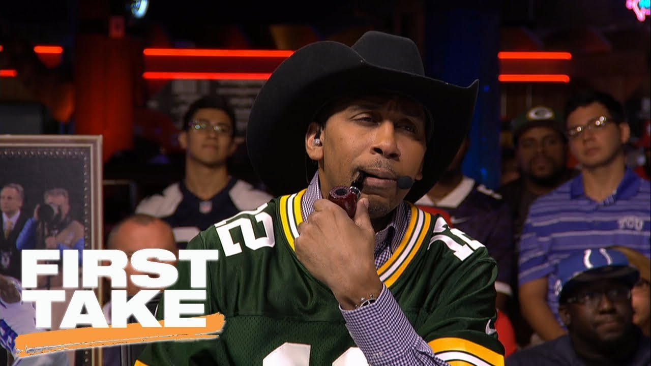 the best attitude e24e3 e510b Stephen A. Smith shockingly picks Cowboys to beat Giants in Week 1 | First  Take | ESPN