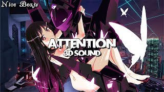 [ Special ] - 3D Sound - Nightcore - Attention - JFlaMusic