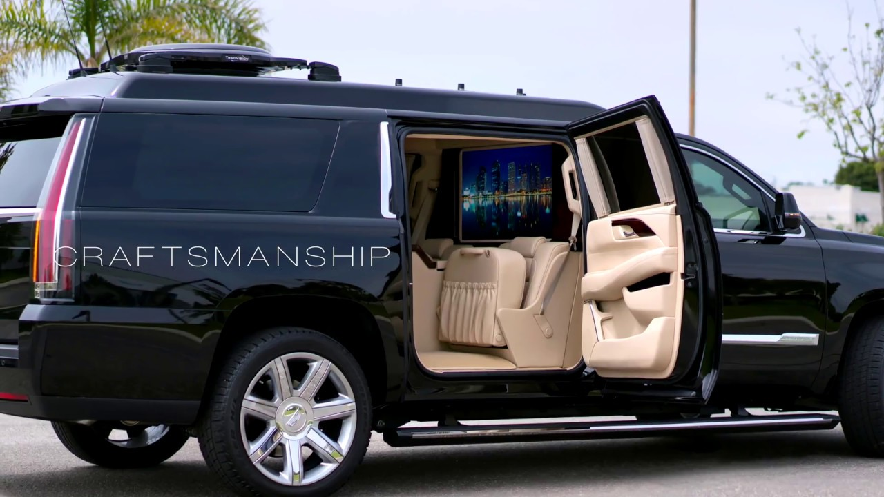 Cadillac Escalade 2019 >> BECKER CADILLAC ESCALADE ESV STRETCH - YouTube