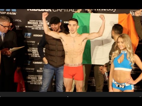 THE FIGHTING PRIDE OF EIRE! - MICHAEL CONLAN (PRO-DEBUT) v TIM IBARRA - FULL WEIGH-IN VIDEO