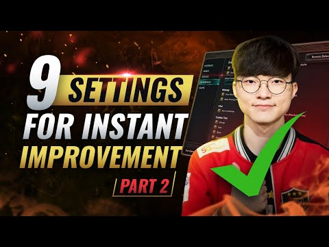 INSTANTLY Improve Your MECHANICS With These 9 Settings: Episode 2 -  League of Legends