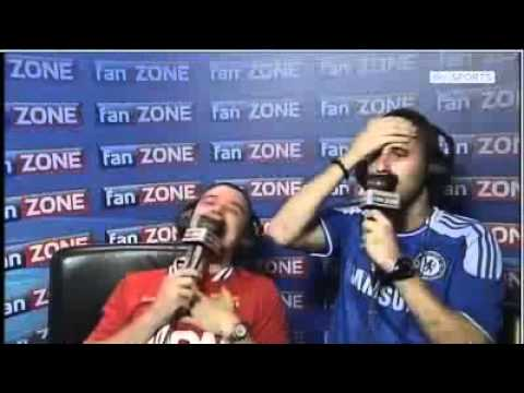 Remember Fanzone? Here's their reaction to Torres' miss vs Manchester United