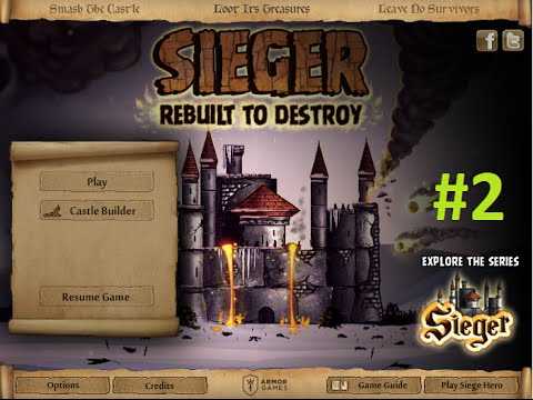 Armor Games - Sieger: Rebuilt to Destroy Level 16 - 32 Walkthrough