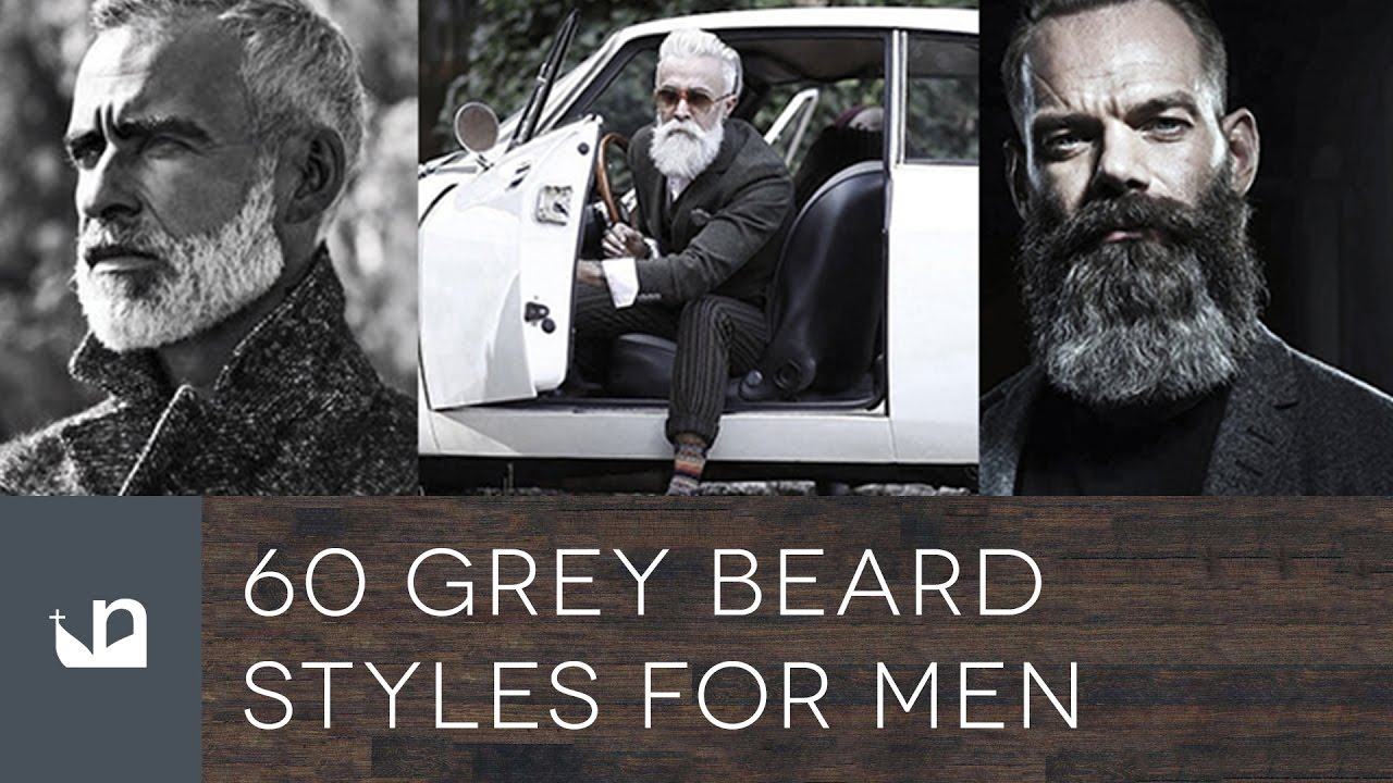 60 Grey Beard Styles For Men Youtube