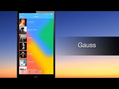 Gauss adds a blur effect to the Music app interface - iPhone Hacks