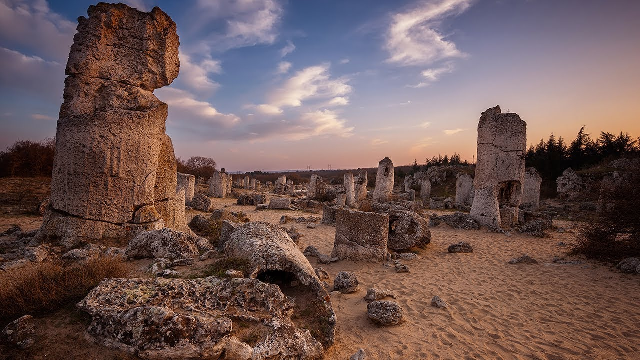 Следы исчезнувшей цивилизации или шутка природы. Каменный лес Болгарии