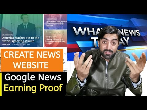 How To Create News Website In WordPress 2020 | $500 Per Month Earning Proof | Google News Website