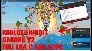 Roblox Hack/ Exploit:DaroXz(Patched) Full LUA C, Apoc, CMDS, und mehr!