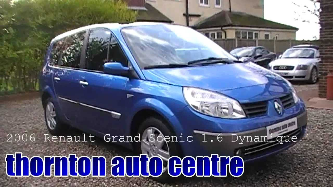 2006 renault grand scenic 1 6 dynamique youtube. Black Bedroom Furniture Sets. Home Design Ideas