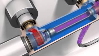 GROHE TrainingCum functioneaza bateriile cu termostat GROHE