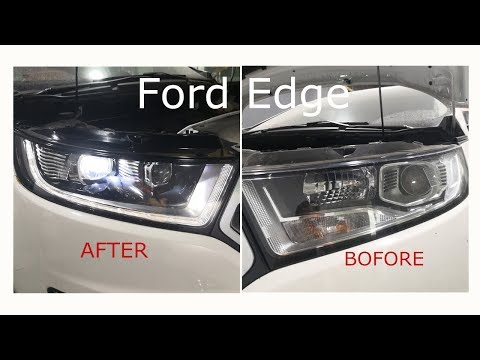 2015-2019 Ford Edge Modified Headlight from Halogen to LED