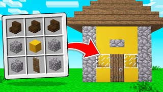 We CRAFTED Our Own HOUSES In Minecraft!