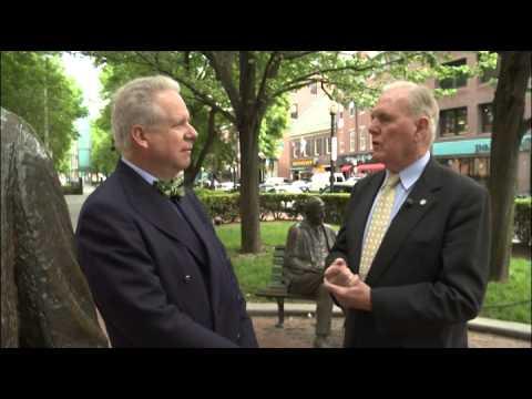James Michael Curley w/Mayor Flynn
