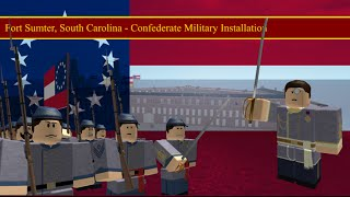 Training with MasterManInvictus - [Roblox] CSA Fort Sumter (hughs in command?!)