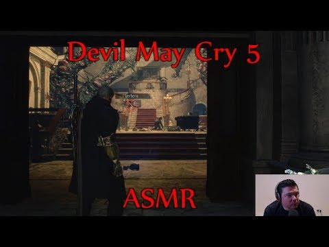 ASMR - Gum Chewing And Playing Devil May Cry 5 Demo thumbnail