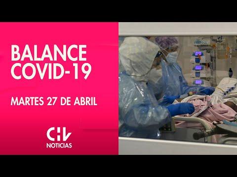 Balance COVID-19, 1 de Mayo