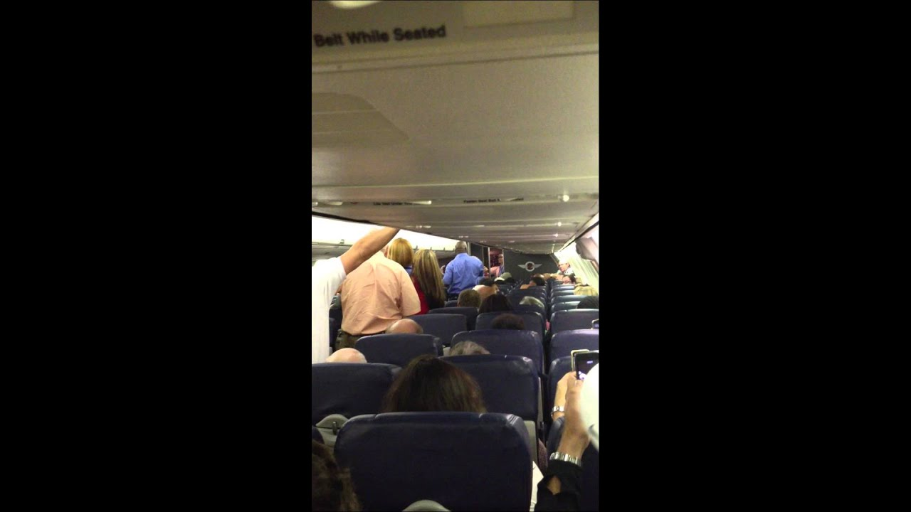 Southwest Airline Angry Drunk Passenger From Houston To