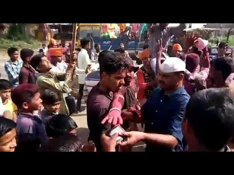 Ganpati bapaa che aagman dhol tashachya gajrat SR ग्रुप