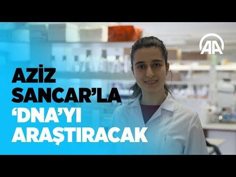 Genç genetik bilimci Aziz Sancar'ın yanında 'DNA'yı araştıracak