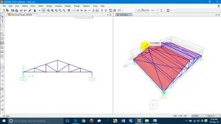 Roof Truss design using SAP2000 by Shanto,MIST