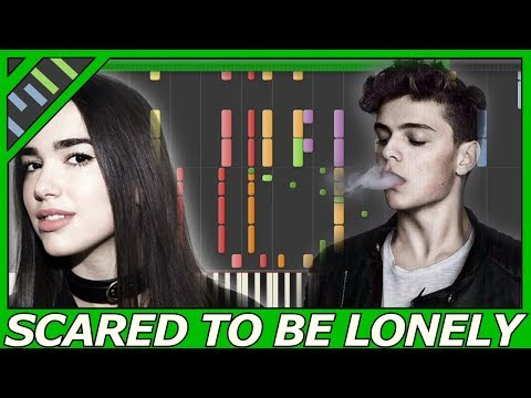 [IMPOSSIBLE+MID] Martin Garrix & Dua Lipa - Scared To Be Lonely (Piano Max Pandèmix ft. JackFrost)