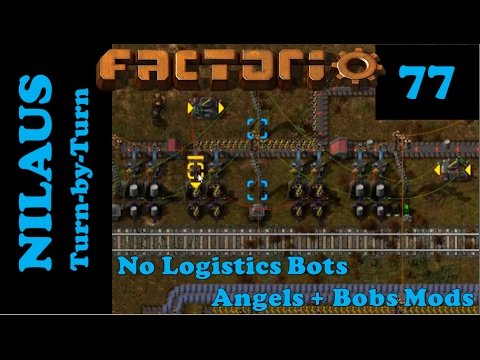 Factorio S6E77 - Sulfuric Acid and Smart loaders