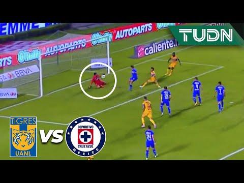¿QUÉ? 'Chuy' Corona salvó el AUTOGOL | Tigres 0-0 Cruz Azul | Guard1anes 2020 Liga BBVA MX | TUDN
