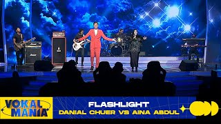 Download lagu Danial Chuer vs Aina Abdul - Flashlight | Vokal Mania (2020)