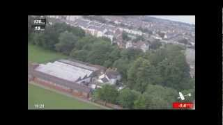 Bute Park Cardiff  - Aerial View